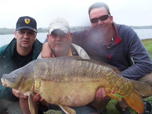 Klaserie-Dam-Carp-Fishing-South-Africa-45lb