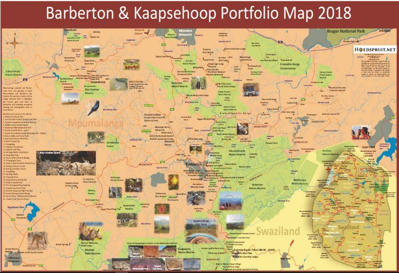 Barberton Map